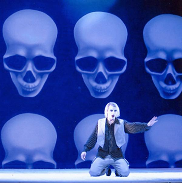 Bühnenbild für die Oper in Kiel