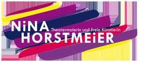 Logo von Nina Horstmeier, Kunst- und Theatermalerin
