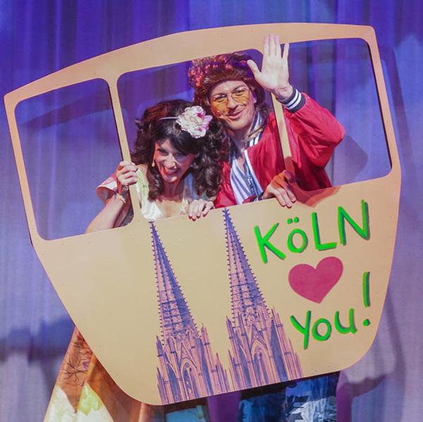 Bühnenbild im Scala Theater Köln
