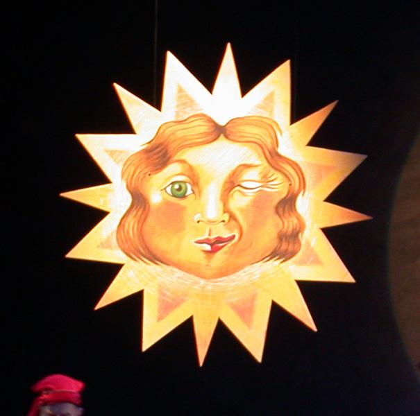 Bühnenbild:Theatermalerei auf Sperrholz
