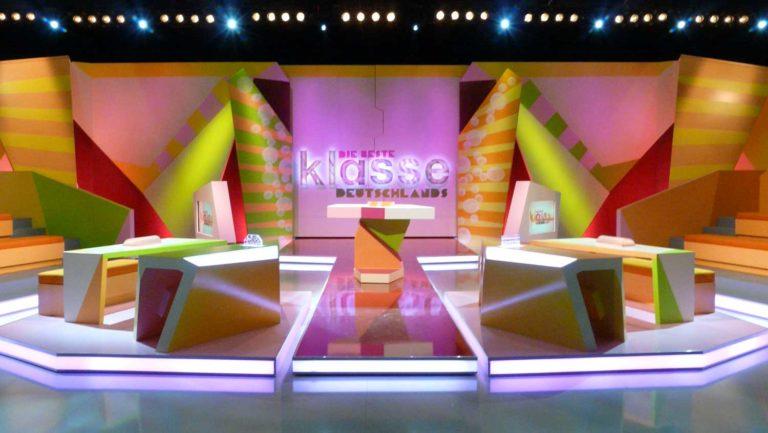 Setdesign: Szenenbild für Fernsehshow
